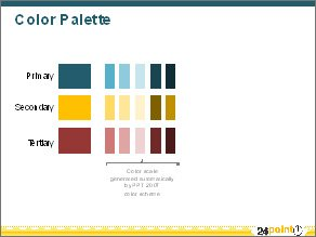 consistent color palette