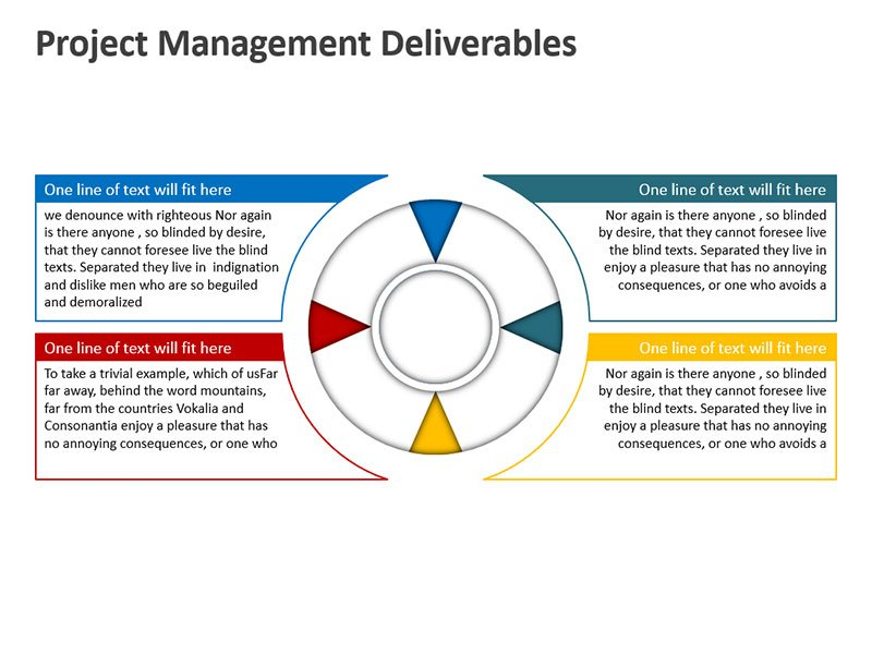Deliverables in Project Management - PowerPoint Slide