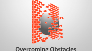Overcoming Obstacles: Editable PowerPoint Presentation