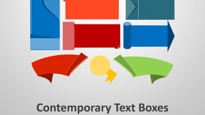 Contemporary Text Boxes - Editable PowerPoint Presentation